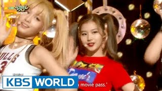 TWICE   Do It Again  Like OOH AHH | 트와이스   다시 해줘  OOH AHH 하게 [Music Bank Hot Debut  2015.10.23]