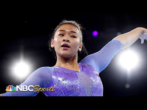Suni Lee's fantastic floor routine delivers silver medal   NBC Sports