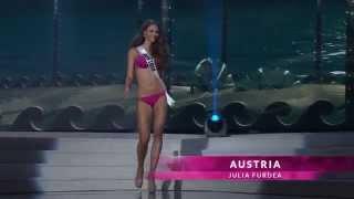 Miss Universe 2014 Preliminary Live Stream