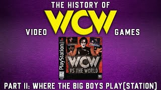 The History of WCW Video Games Part II - Where The Big Boys Play(Station).