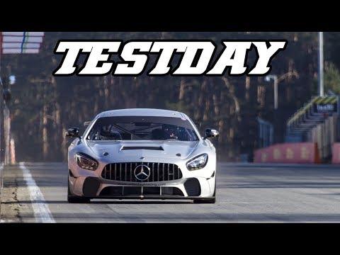 AMG GT4, indycar, M235i Racing (Testday Zolder 2018-02-22)