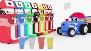Kolorowe Slushies - Ucz się z Pociągiem Tedem | Bajki Edukacyjne dla Dzieci