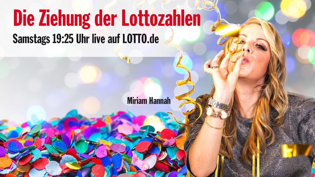 lotto ziehung samstag live