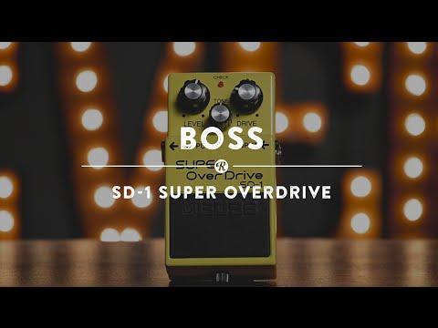 BOSS SD 1 Kytarový efekt