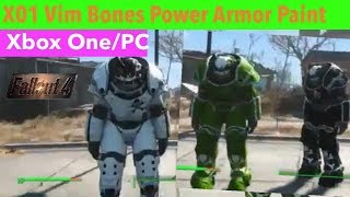 fallout 4 power armor paint mods xbox one - TH-Clip