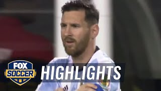 Argentina vs. Panama | 2016 Copa America Highlights by FOX Soccer