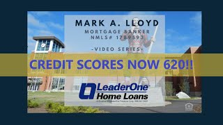 620 Credit Score for All Loans