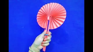 Paper Fan Origami How To Make Paper Fan How To Make Paper Fan At