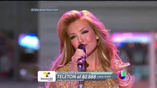 Thalía ► Por Lo Que Reste de Vida   Teleton USA 2014