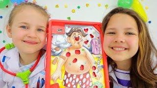 Игры для детей. Лечим зубы Ам-Няму!