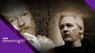 Why Has Wikileaks' Julian Assange Been Arrested? - BBC Newsnight