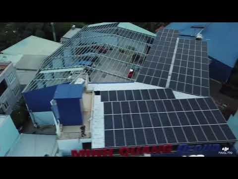 Khải Minh Solar thi công hệ thống điện mặt trời 192kw cho tập đoàn Minh Quang - Hóc Môn