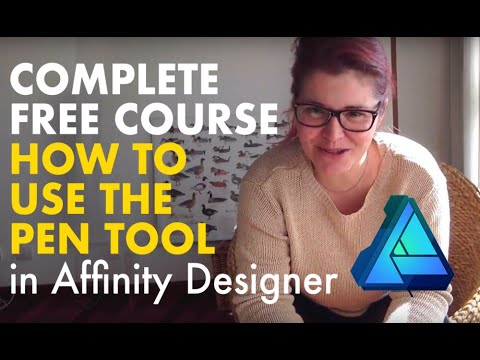 Affinity Designer Complete FREE Course - Learn to use the Pen ...