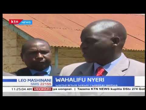 Wahalifu wawili wamejisalimisha Nyeri