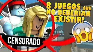 LOS 8 JUEGOS De ROBLOX QUE NO DEBERIAN DE EXISTIR Y QUE NO CONOCIAS!!