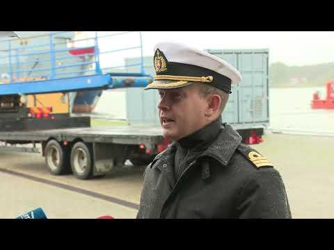 Vokietijos povandeninis laivas U 31 Klaipedoje 2019 09 18