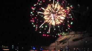 2014 nc holiday flotilla fireworks 4 - Video Youtube