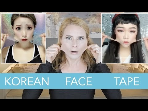 KOREAN V-SHAPE FACE TAPE Because Instagram | skip2mylou