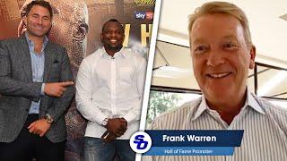 FRANK WARREN RAW! 'Eddie Hearn TALKING CR*P'   'Dillian Whyte NEEDS REST'