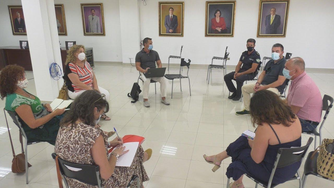 Reunión educativa para la vuelta a las aulas