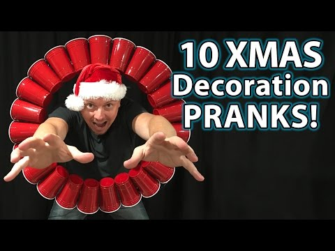 10 Holiday Decoration Prank Ideas (DIY How To Hacks & Pranks!)