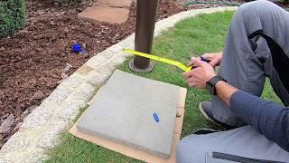 Aufbau und Anschluss Garten Wasserzapfstelle WZS1