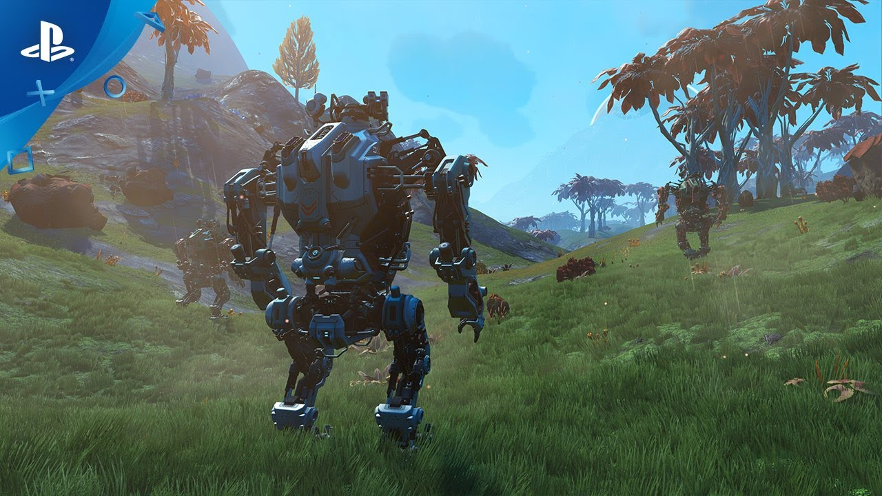 No Mans Sky New Update Adds Awesome Mechs