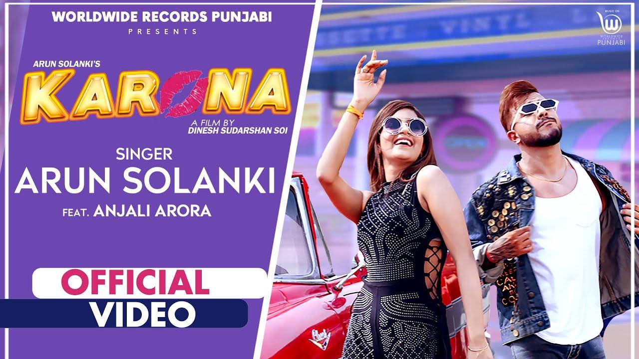 Karona Hindi Lyrics – Arun Solanki