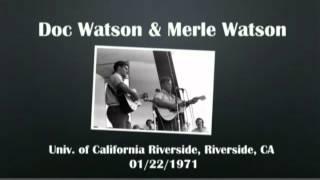 【CGUBA033】Doc Watson & Merle Watson 01/22/1971
