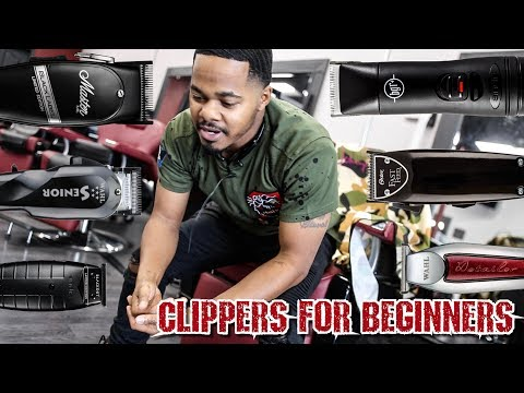 BEST CLIPPERS TO USE FOR BEGINNERS | BARBER TALK