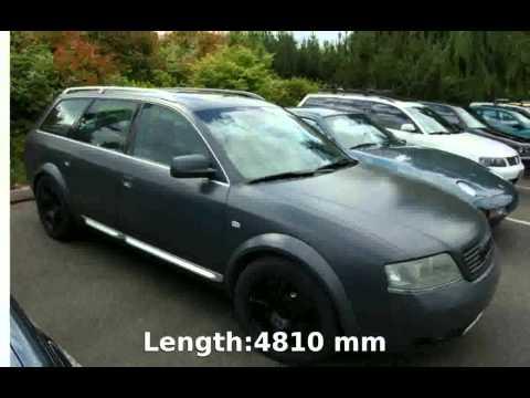 2002 Audi allroad quattro 4.2 - Features