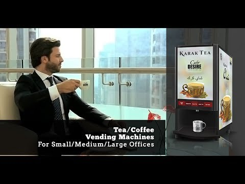 Middle East's Leading Vending Brand - Cafe Desire