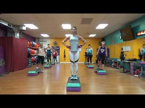 HIGH INTENSITY Step Cardio Class