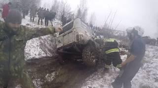 Бездорожье SUV Снежная Карусель часть 2 Niva vs Uaz покатушки 4x4