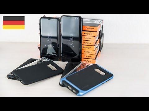 Samsung Galaxy S8 Spigen Schutzhüllen und Cover im Test deutsch 4k