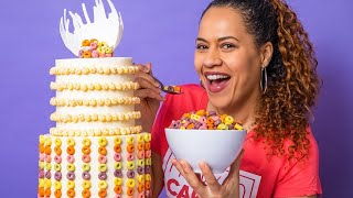 Incredible Cereal Breakfast Cake! | How To Cake It with Yolanda Gampp