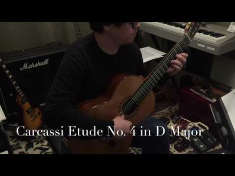 Matteo Carcassi Etude No.4 in D Major