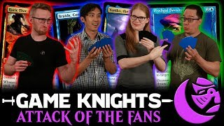 Attack Of The Fans! L Game Knights #35 L Magic: The Gathering Commander / EDH Gameplay