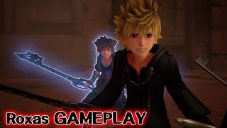 Kingdom Hearts 3: ReMind DLC - Boss Xemnas & Saix [Roxas GAMEPLAY]