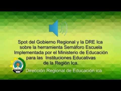 Semaforo Escuela 2016 - Dirección Regional de Educación Ica