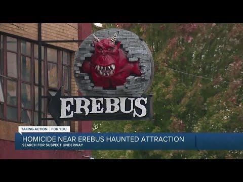 Homicide near Erebus Haunted Attraction in Pontiac