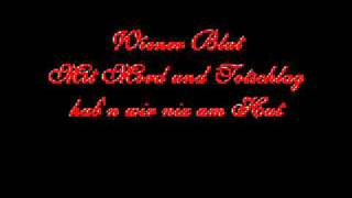 Lyrics: Wiener Blut - Falco