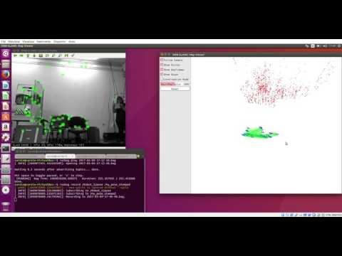 ORB SLAM 2 on Windows + Intel RealSense R200 - смотреть