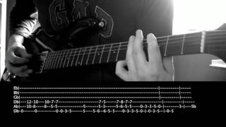 Alice in Chains - Died   Guitar Cover with Solo and Tabs