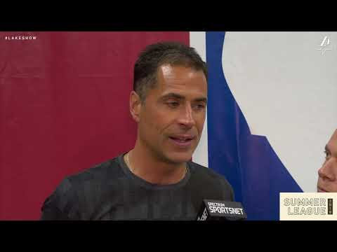 Rob Pelinka Interview (7/17/18)