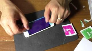 Как наклеить защитное стекло на экран iPhone