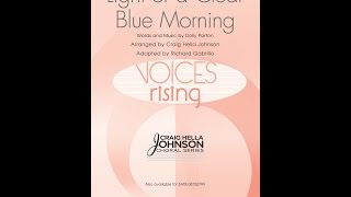 Light of a Clear Blue Morning (SSAA) - Arranged by Craig Hella Johnson