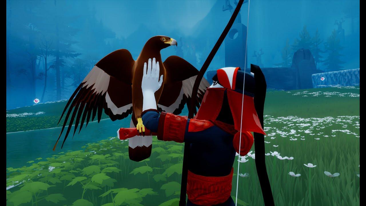 開放世界冒險遊戲《The Pathless》6分鐘實機演示影像公開,開局一人一弓一鷹探索島嶼、解開謎題、面對敵人,遊戲中沒有地圖,需要運用靈魂的能力探索。 Maxresdefault