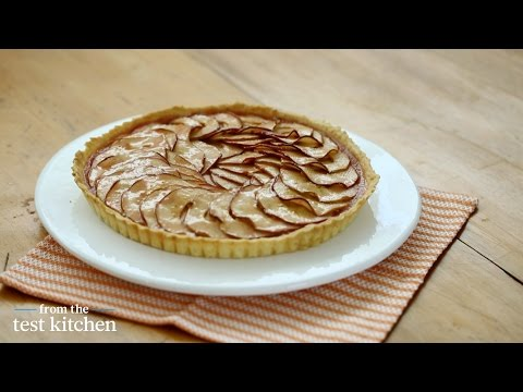 Homemade Pink Applesauce Tart – From the Test Kitchen