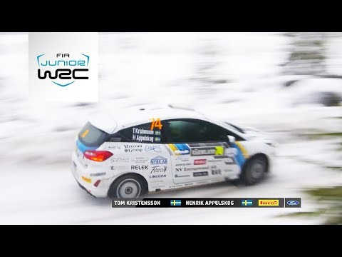 Junior WRC - Rally Sweden 2019: Saturday Highlights